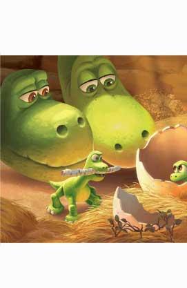 Казки на ніч. Добрий динозавр