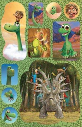 Добрий динозавр. Розмальовка з наліпками