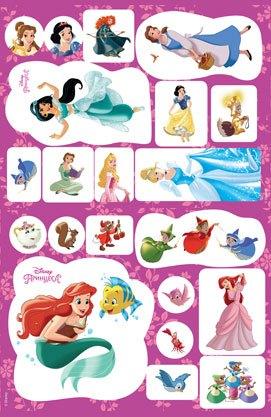 Принцеси Дісней Книжка-розвивайка з наліпками