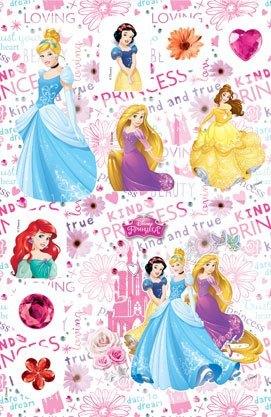 Принцеси. Розмальовка з наліпками