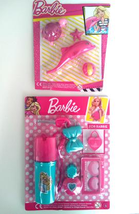 Журнал Барбі з 2 іграшками