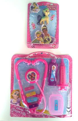 Журнал Чарівна принцеса. Принцеси Дісней з 2 іграшками